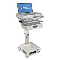 LX10 Laptop Cart Medical Workstation